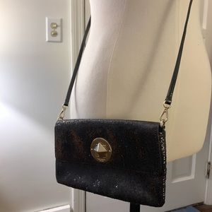 Kate Spade Black sparkly going out bag!